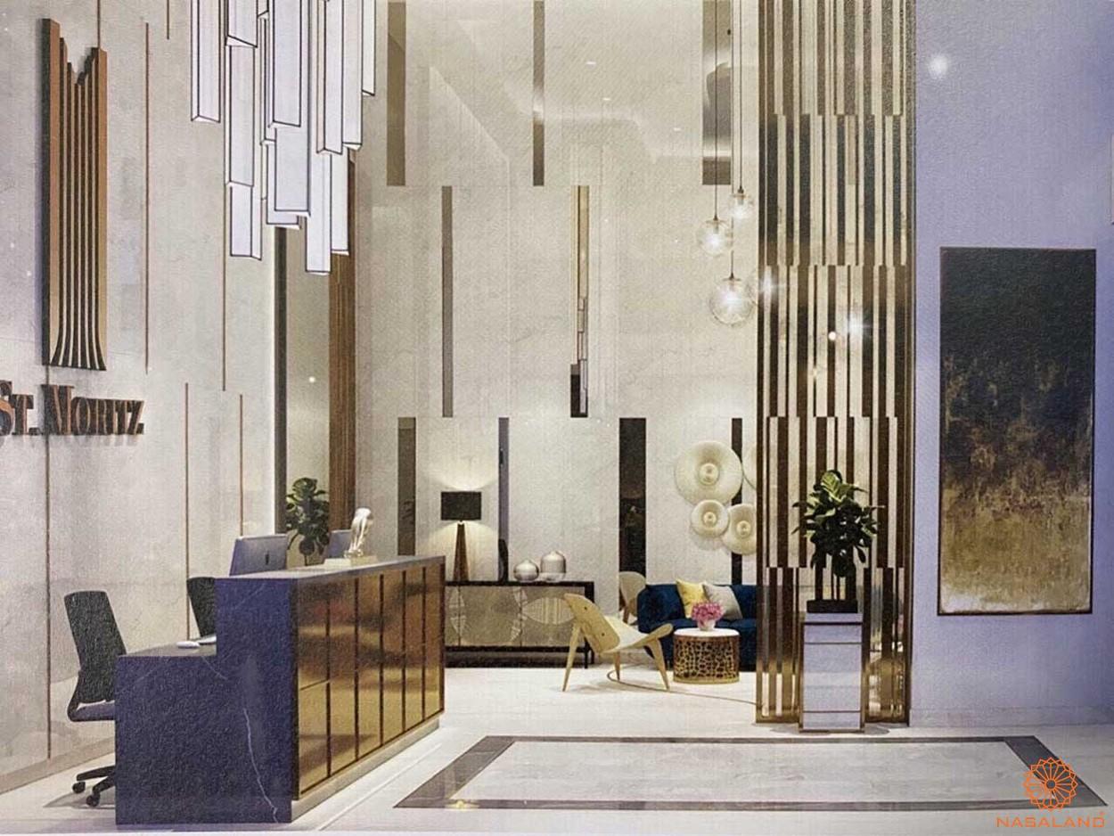 Nhà mẫu dự án căn hộ ST Moritz Thủ Đức