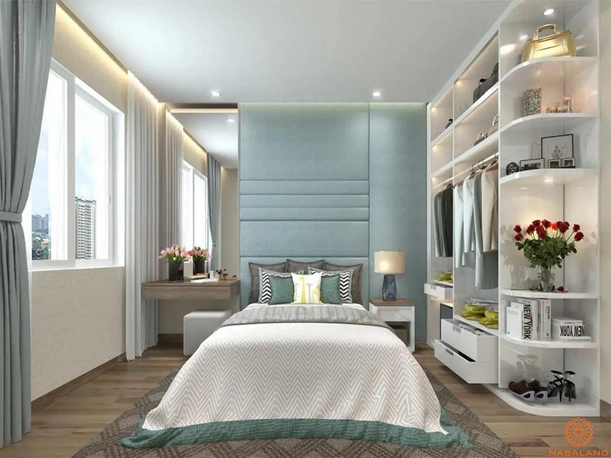 Nhà mẫu dự án căn hộ Unico Thăng Long - phòng ngủ