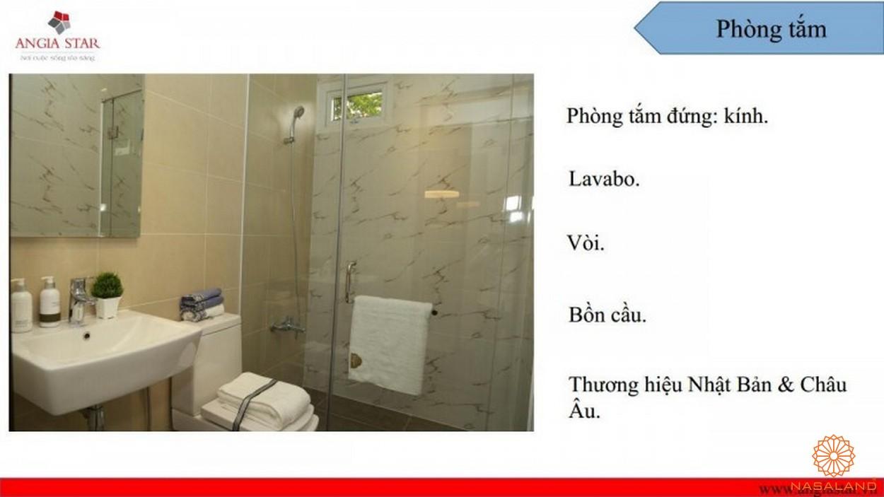 Nội thất căn hộ An Gia Star - phòng tắm
