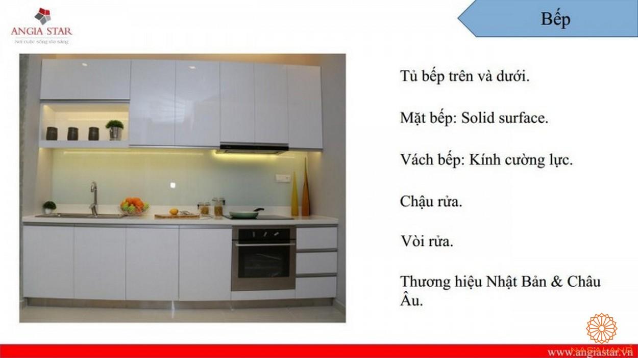 Nội thất căn hộ An Gia Star - phòng bếp