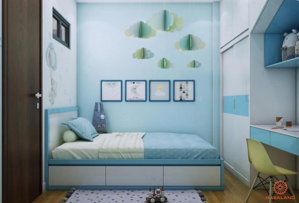 Nội thất phòng ngủ Bcons Miền Đông Bình Dương