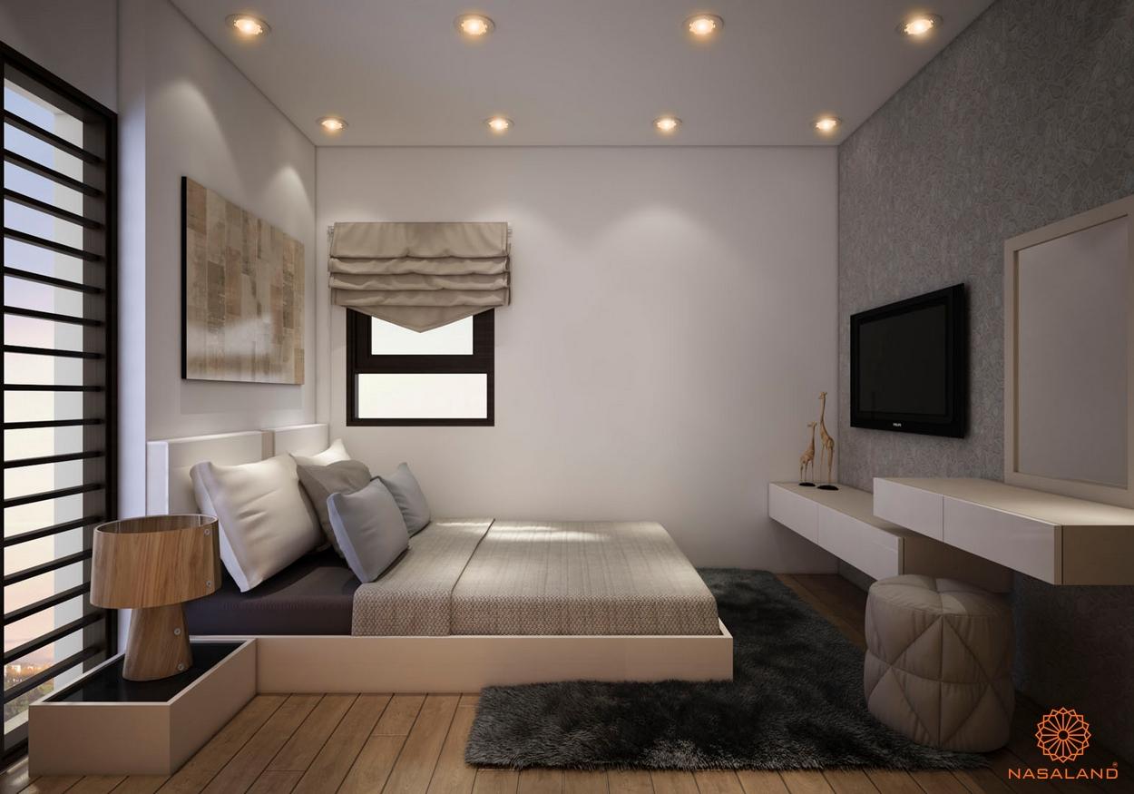 Thiết kế nội thất phòng ngủ căn hộ Căn hộ La Partenza - Nhà Bè