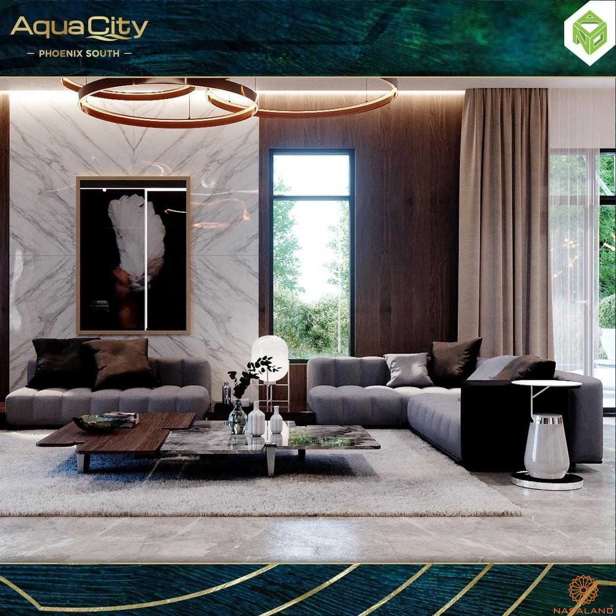 Nội thất dự án biệt thự Aqua City Đảo Phượng Hoàng Đồng Nai