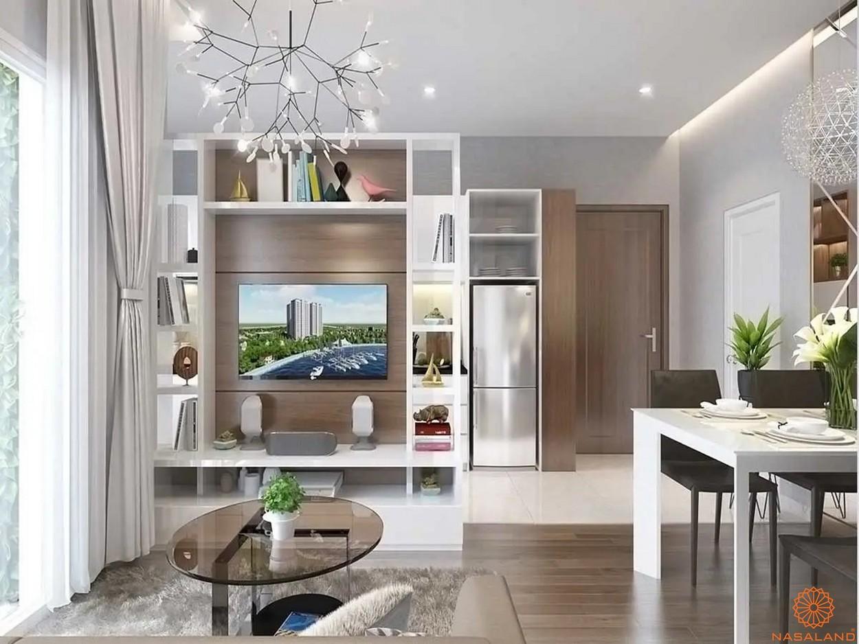 Nội thất dự án căn hộ Unico Thăng Long - phòng khách