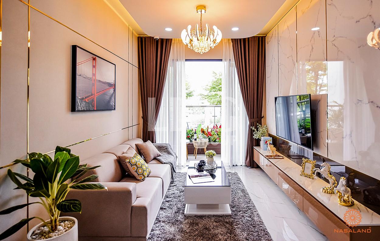 Nội thất phòng khách căn hộ LDG River Thủ Đức