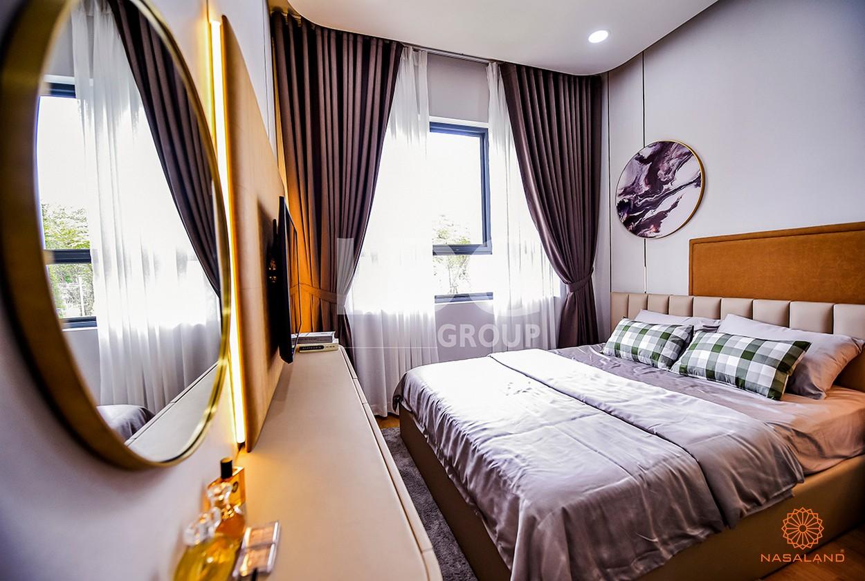 Nội thất phòng ngủ tại căn hộ LDG River Thủ Đức