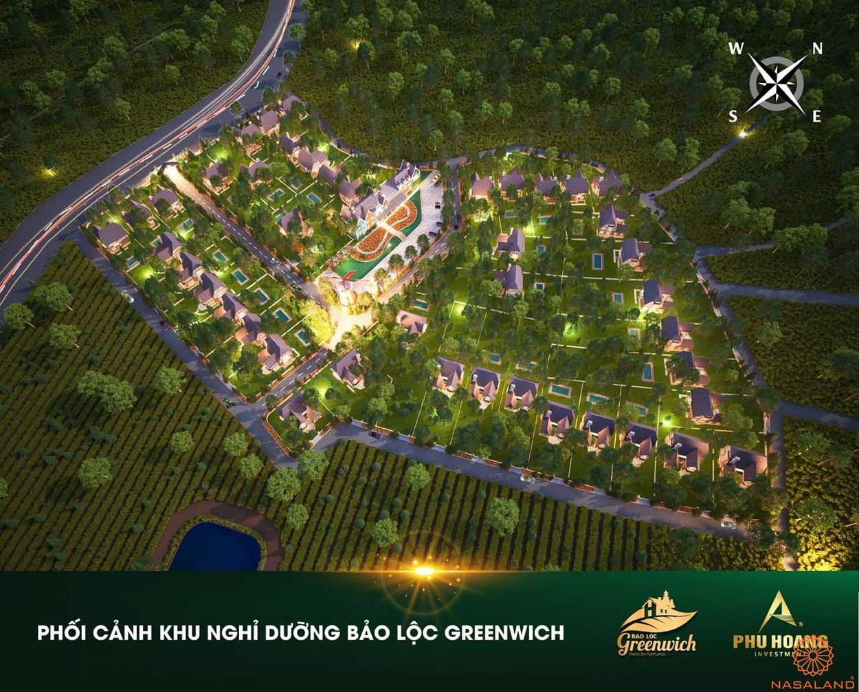 Phối cảnh dự án Bảo Lộc Greenwich Lâm Đồng