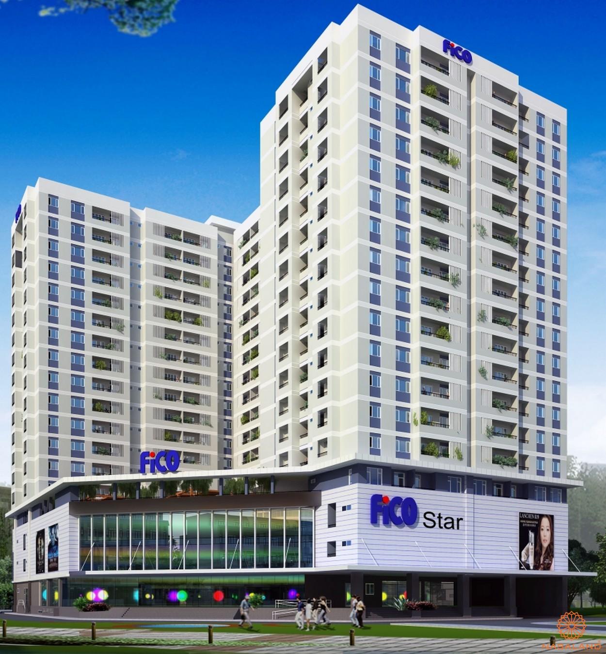 Phối cảnh dự án căn hộ Fico Star