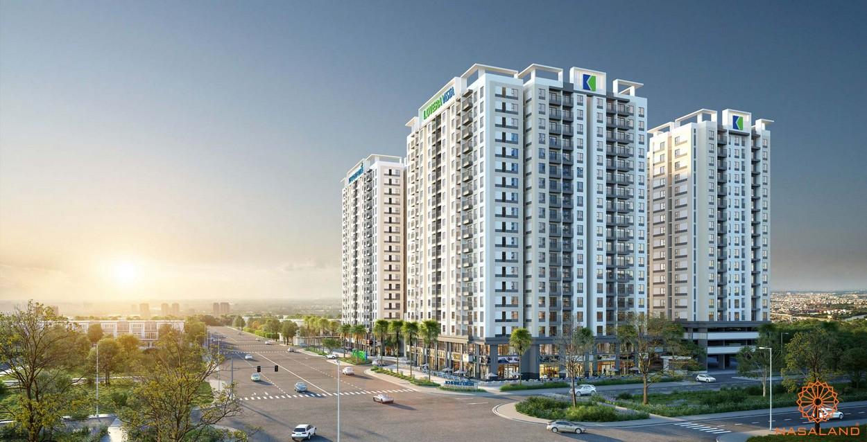 Phối cảnh tổng quan dự án căn hộ Lovera Vista Bình Chánh
