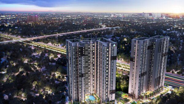 Phối cảnh dự án căn hộ Opal Boulevard Bình Dương