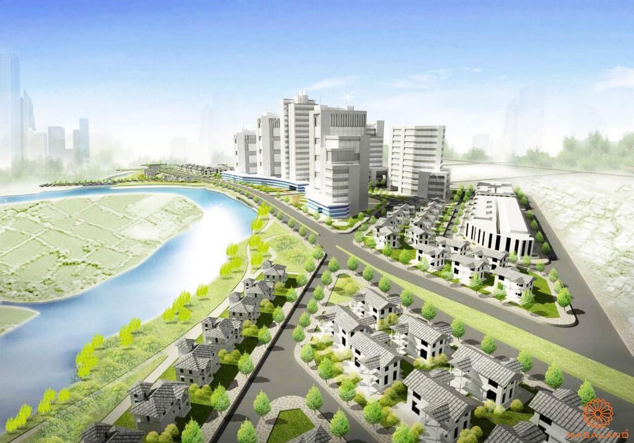 Phối cảnh dự án căn hộ Corona City