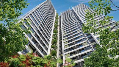 Phối cảnh căn hộ Opal Cityview Bình Dương tổng thể