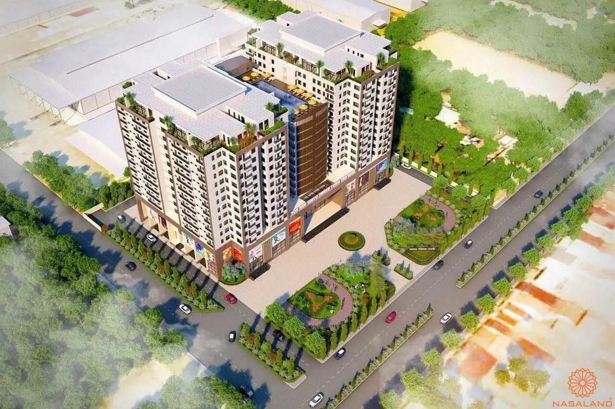 Phối cảnh dự án căn hộ Unico Thăng Long tổng thể