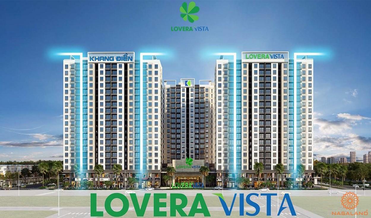 Phối cảnh tổng thể căn hộ Lovera Vista Bình Chánh