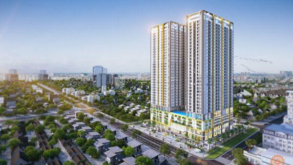 Phối cảnh dự án căn hộ Phú Đông Smart City