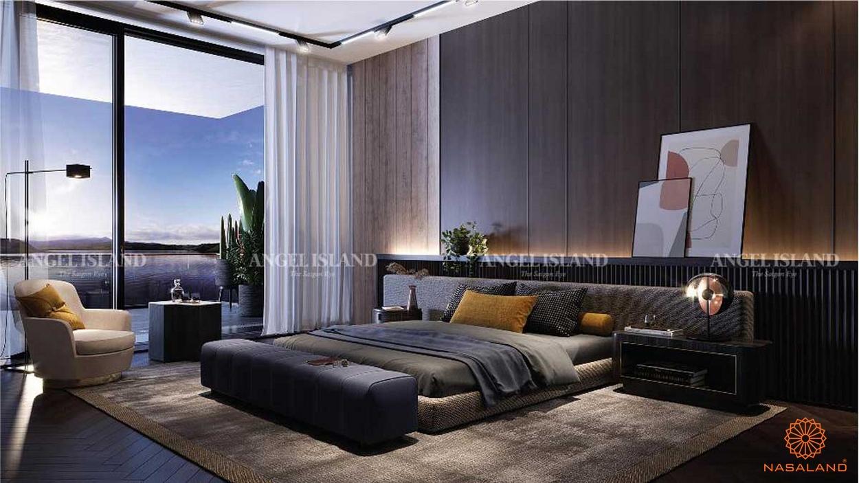 dự án Angel Island Nhơn Phước nội thất phòng ngủ