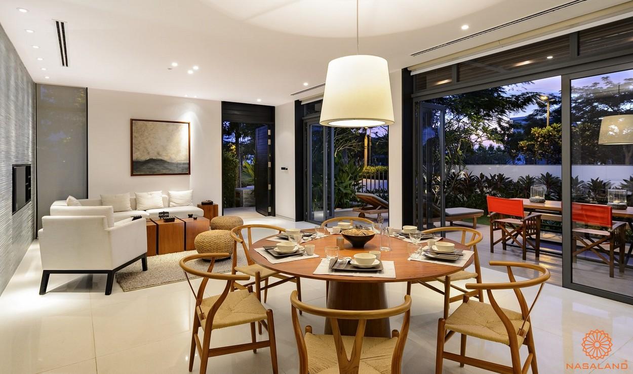 Nhà mẫu dự án căn hộ Corona City