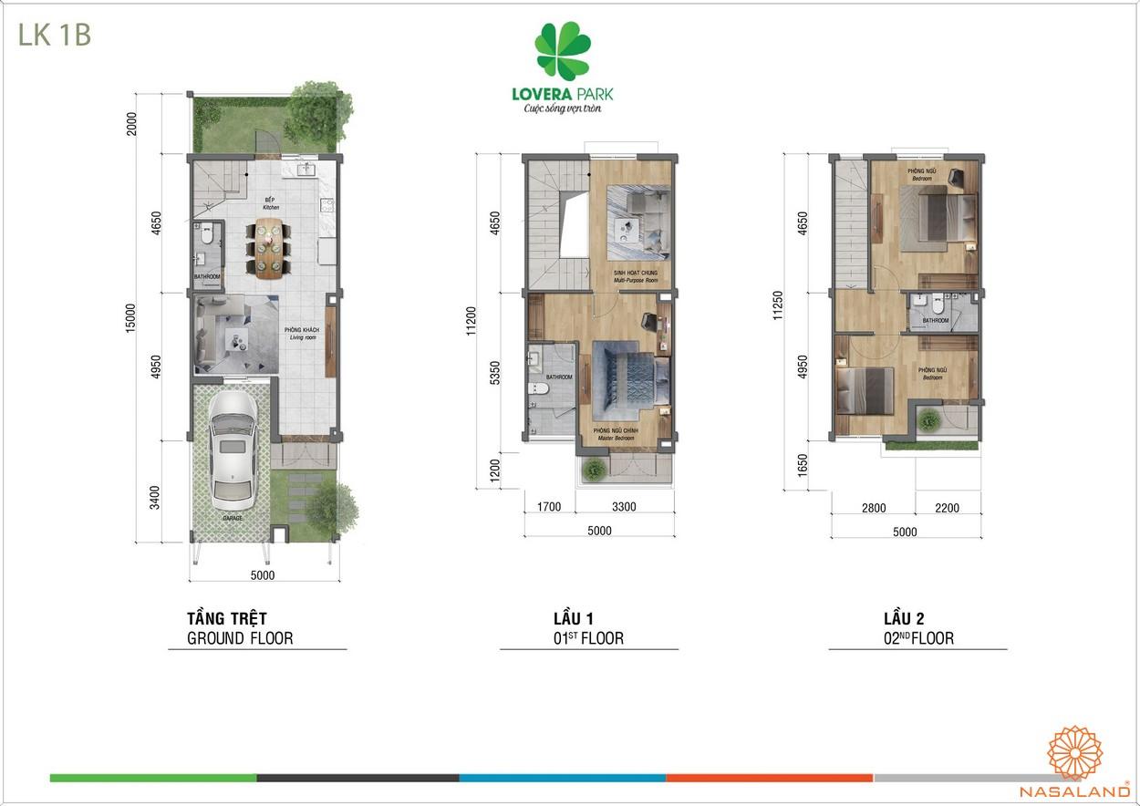 Thiết kế dự án căn hộ Lovera Park Bình Chánh lk1b