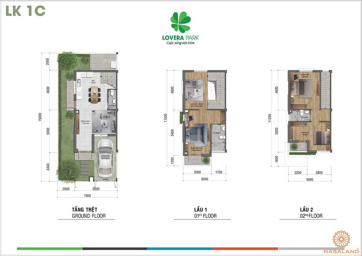 Thiết kế dự án căn hộ Lovera Park Bình Chánh lk1c