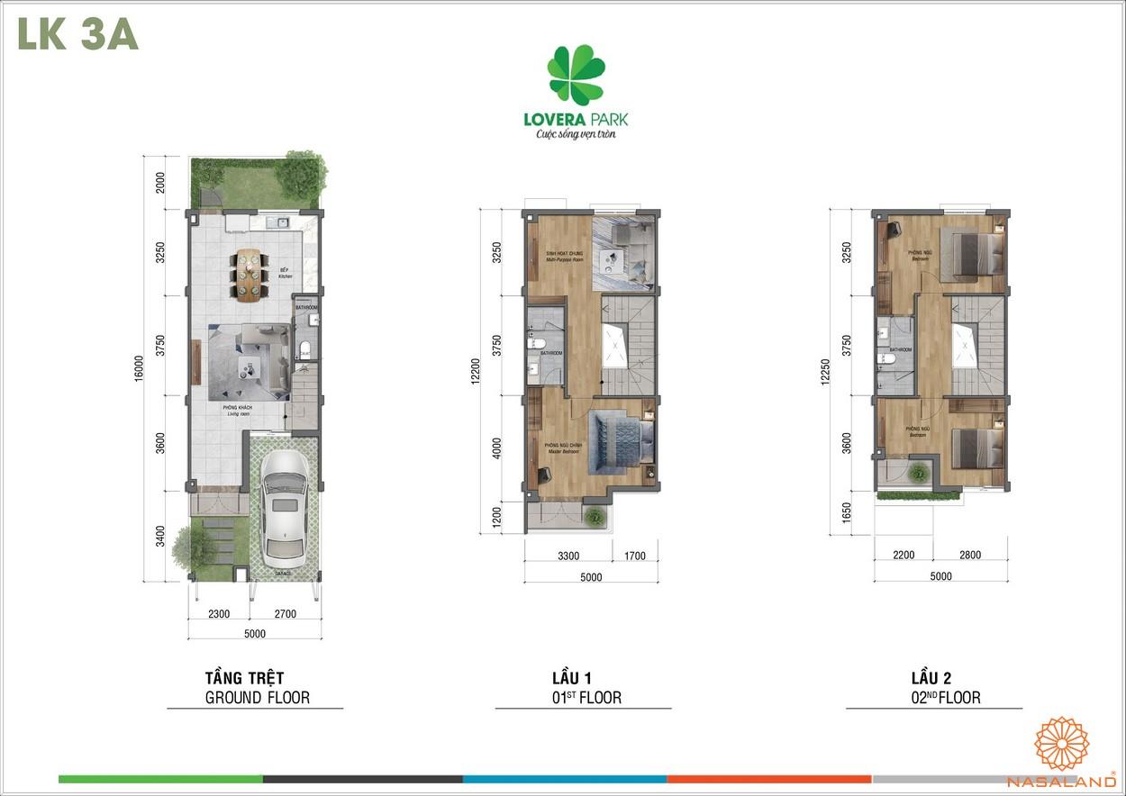 Thiết kế dự án căn hộ Lovera Park Bình Chánh lk3a