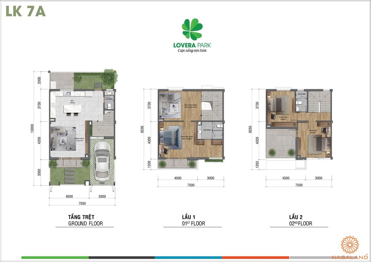 Thiết kế dự án căn hộ Lovera Park Bình Chánh lk7a