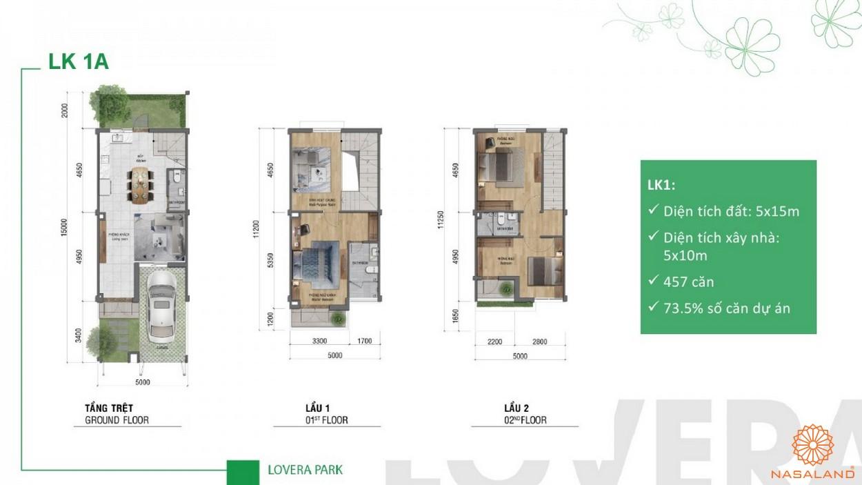 Thiết kế dự án căn hộ Lovera Park Bình Chánh