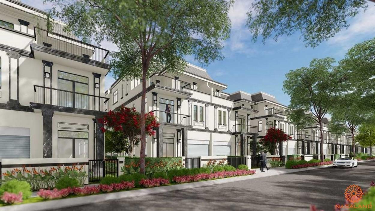 Thiết kế biệt thự dự án kdt La Vida Residences