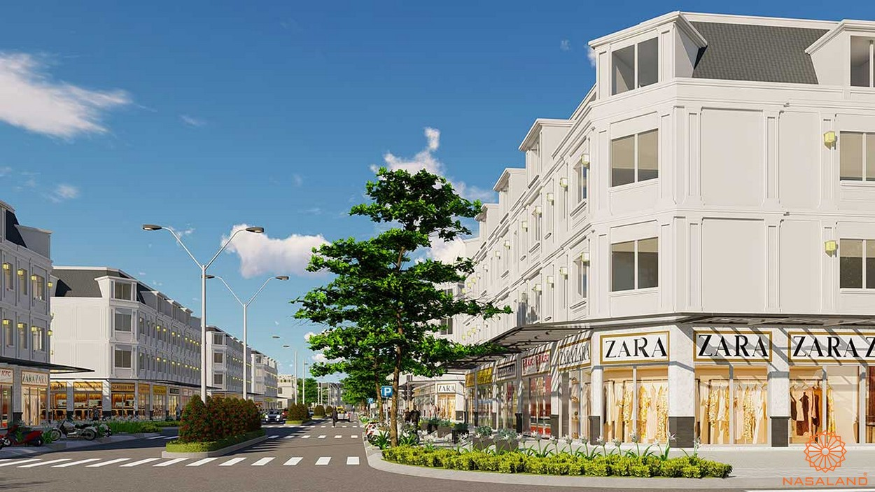 Thiết kế shophouse dự án kdt La Vida Residences