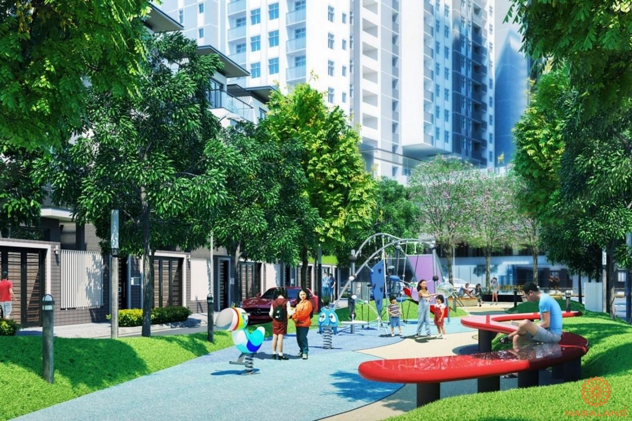 Tiện ích công viên dự án căn hộ Milky Way