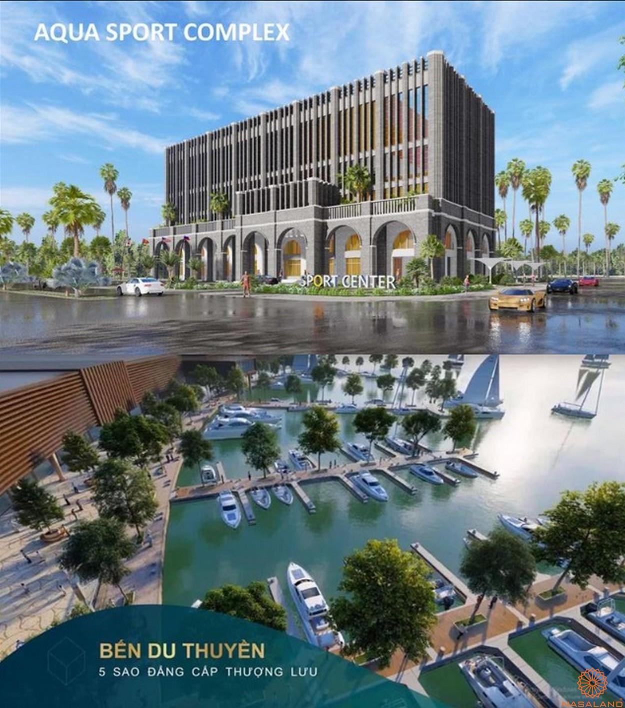 Tiện ích nội khu dự án biệt thự Aqua City Đảo Phượng Hoàng Đồng Nai