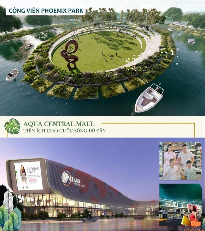 Tiện ích dự án biệt thự Aqua City Đảo Phượng Hoàng Đồng Nai