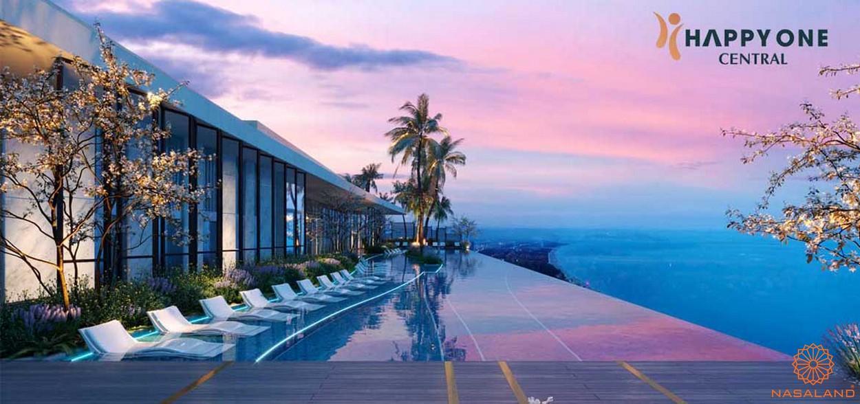 Tiện ích dự án căn hộ Happy One Central Bình Dương - sky view