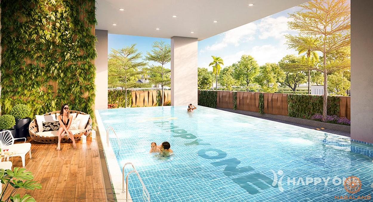 Tiện ích dự án căn hộ Happy One Central Bình Dương - hồ bơi