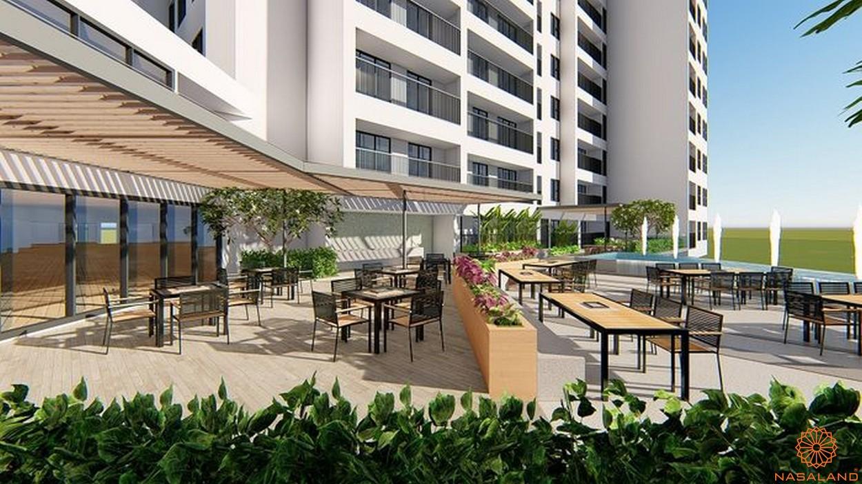 Tiện ích dự án căn hộ Sora Gardens II Bình Dương - Cafe shop
