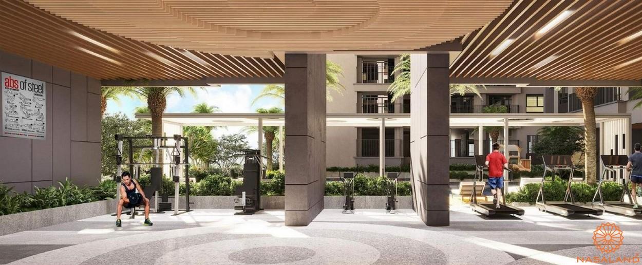 Tiện ích dự án căn hộ Sora Gardens II Bình Dương - Gym