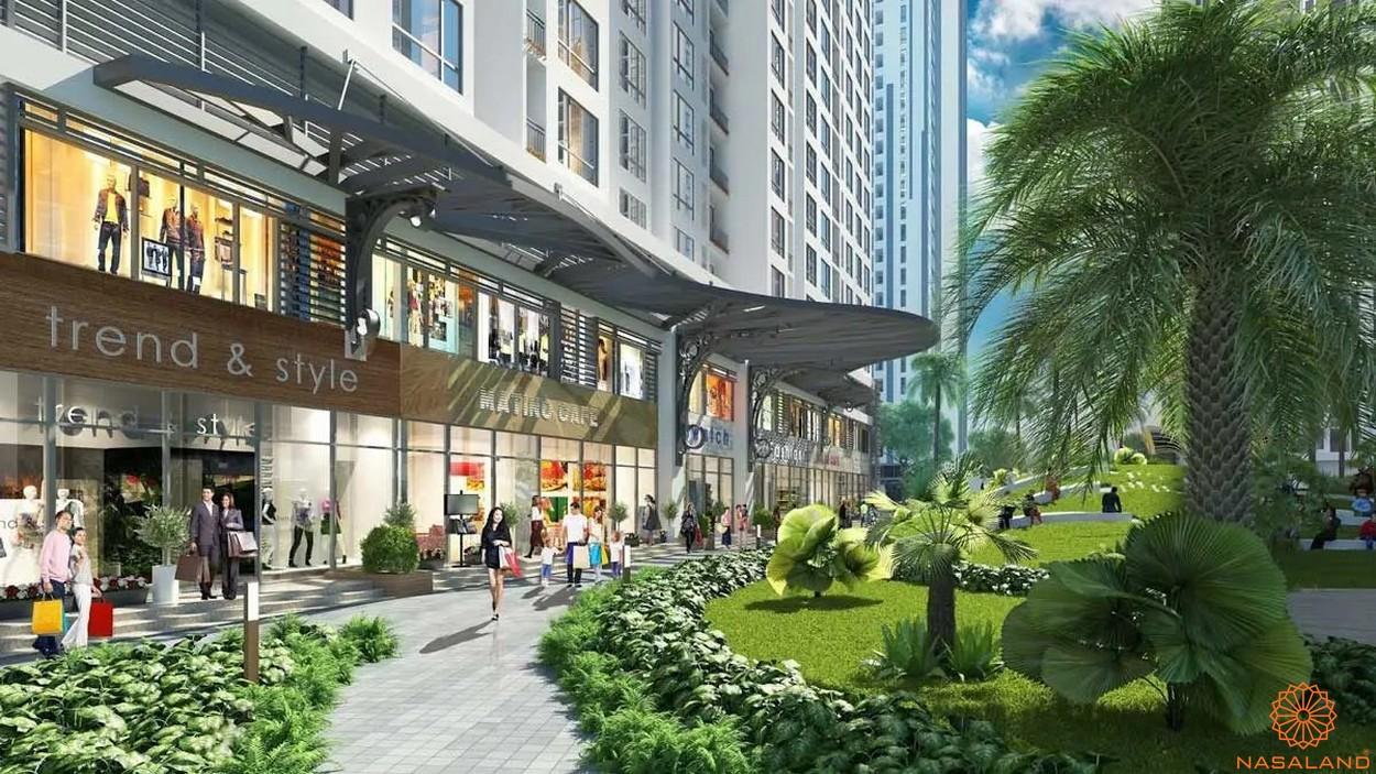 Tiện ích dự án căn hộ Unico Thăng Long - trung tâm thương mại
