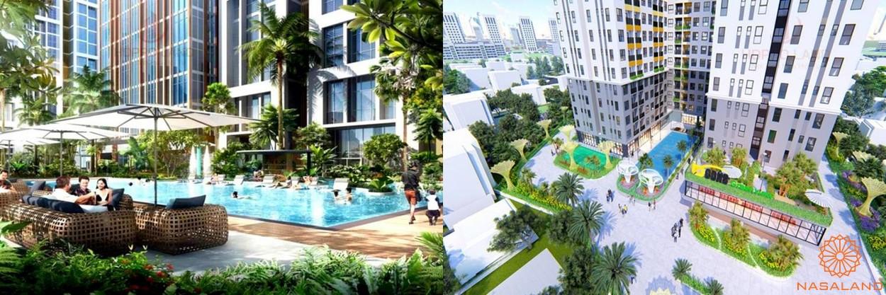 Tiện ích dự án căn hộ Green Square Dĩ An Bình Dương