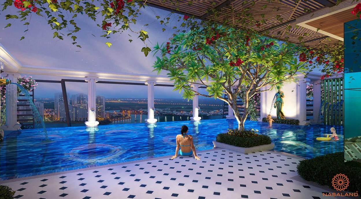 Tiện ích hồ bơi dự án căn hộ ST Moritz Thủ Đức