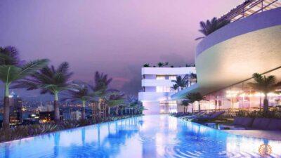 Tiện ích hồ bơi căn hộ Sky Park Bình Chánh