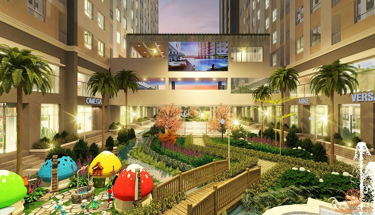 Tiện ích khu vui chơi dự án căn hộ Saigon Intela