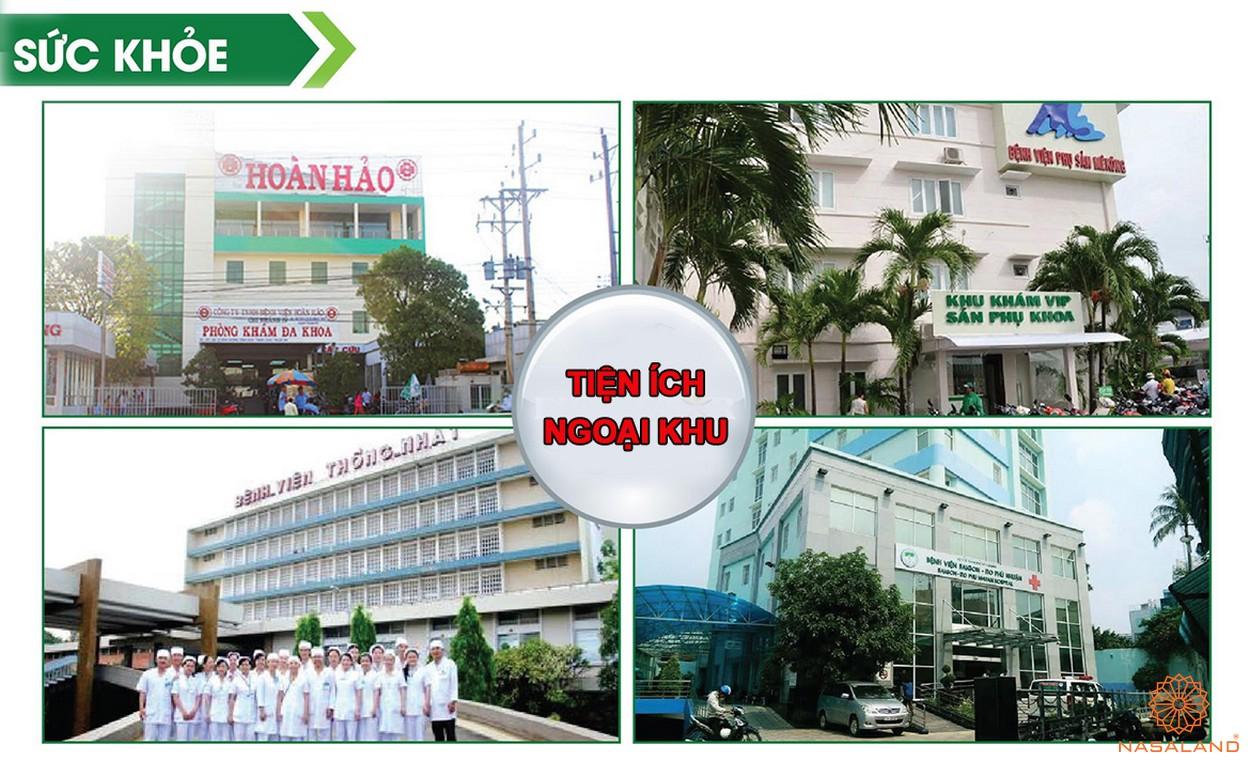 Tiện ích ngoại khu dự án căn hộ Fico Star