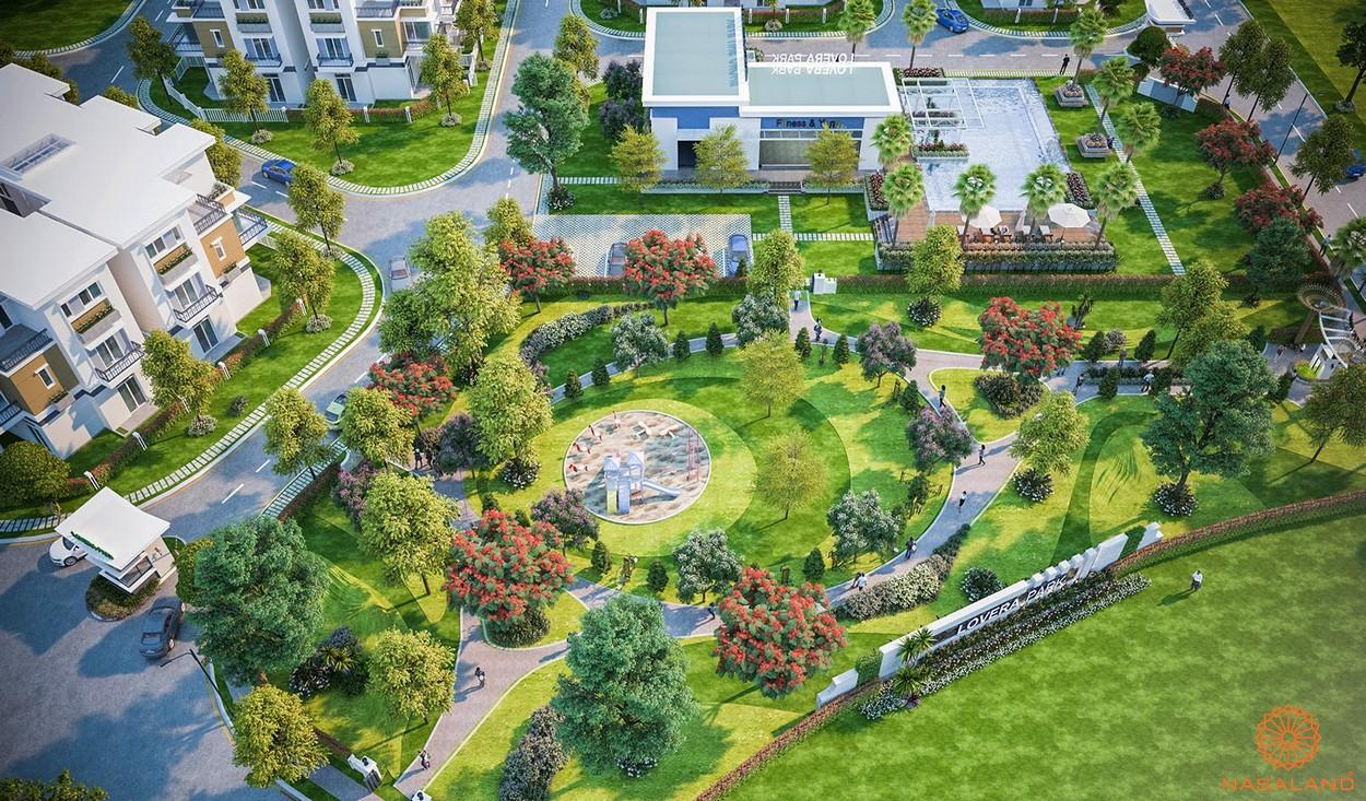 Tiện ích nội khu dự án căn hộ Lovera Park Bình Chánh