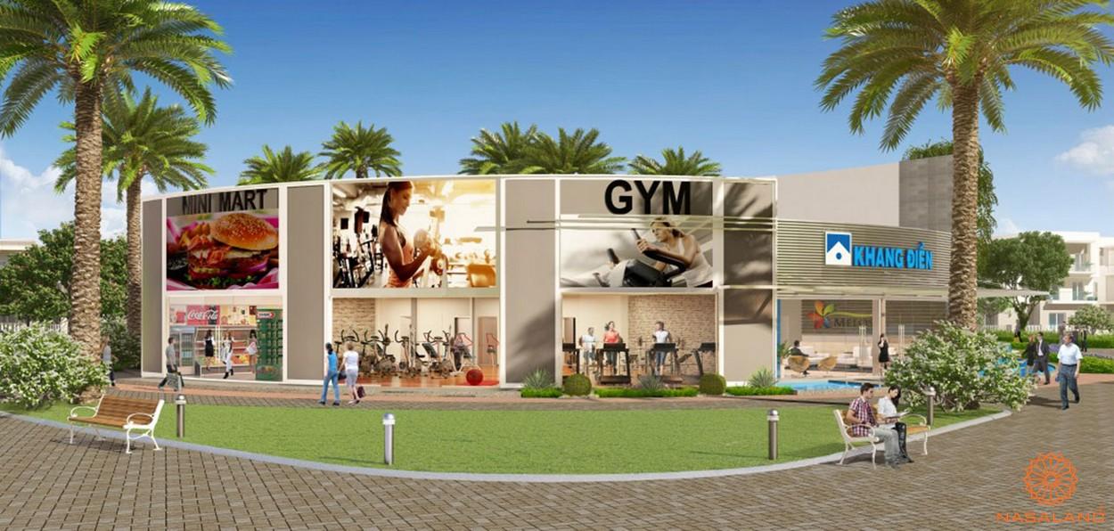 Tiện ích phòng gym căn hộ Corona City