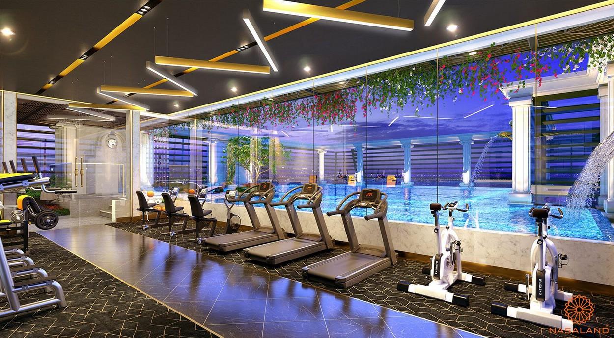 Tiện ích phòng gym dự án căn hộ ST Moritz Thủ Đức