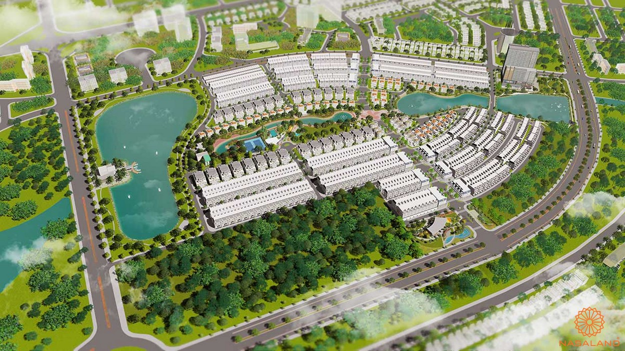 Phối cảnh tổng quan dự án kdt La Vida Residences