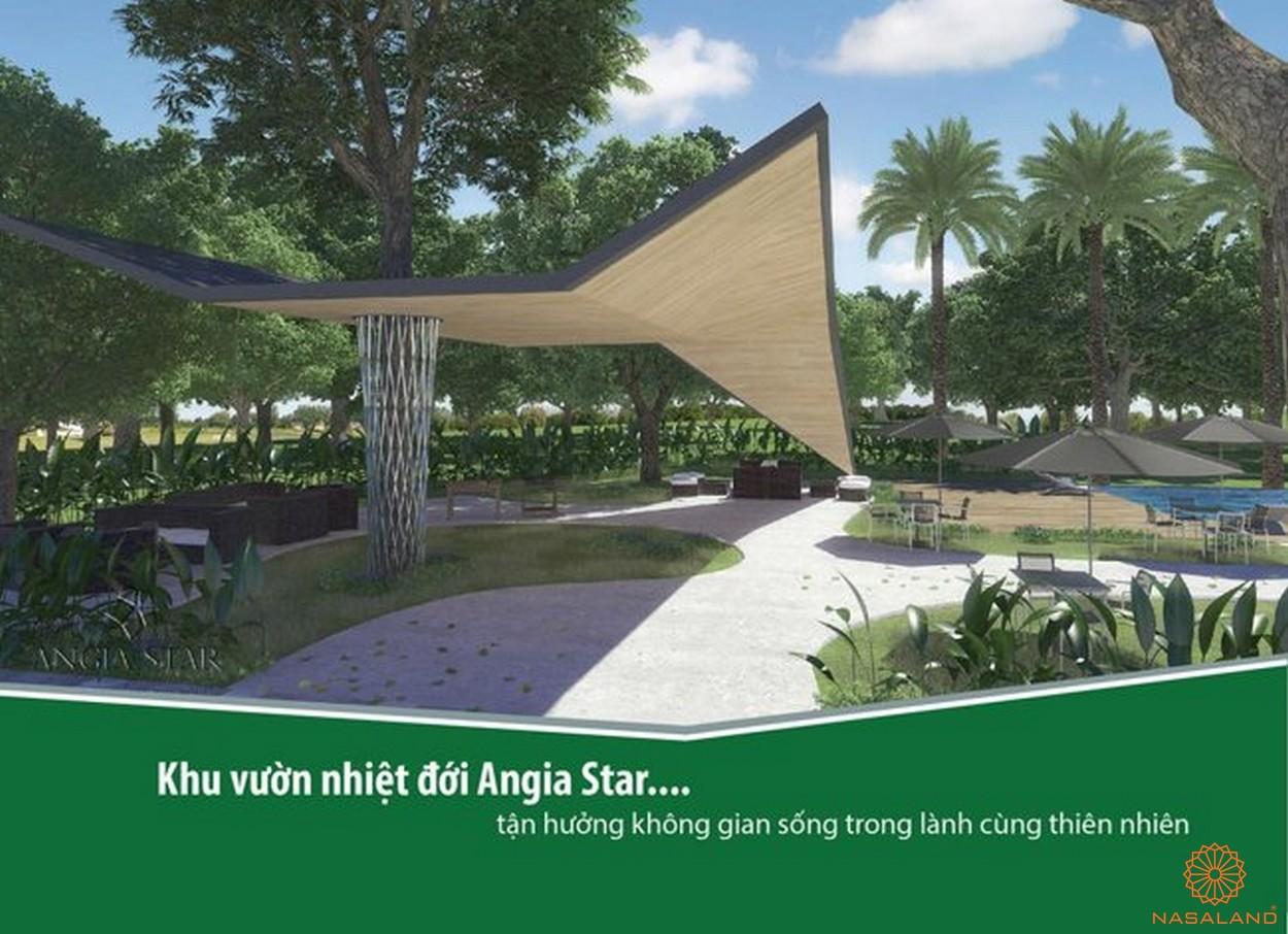 Tiện ích vườn nhiệt đới căn hộ An Gia Star