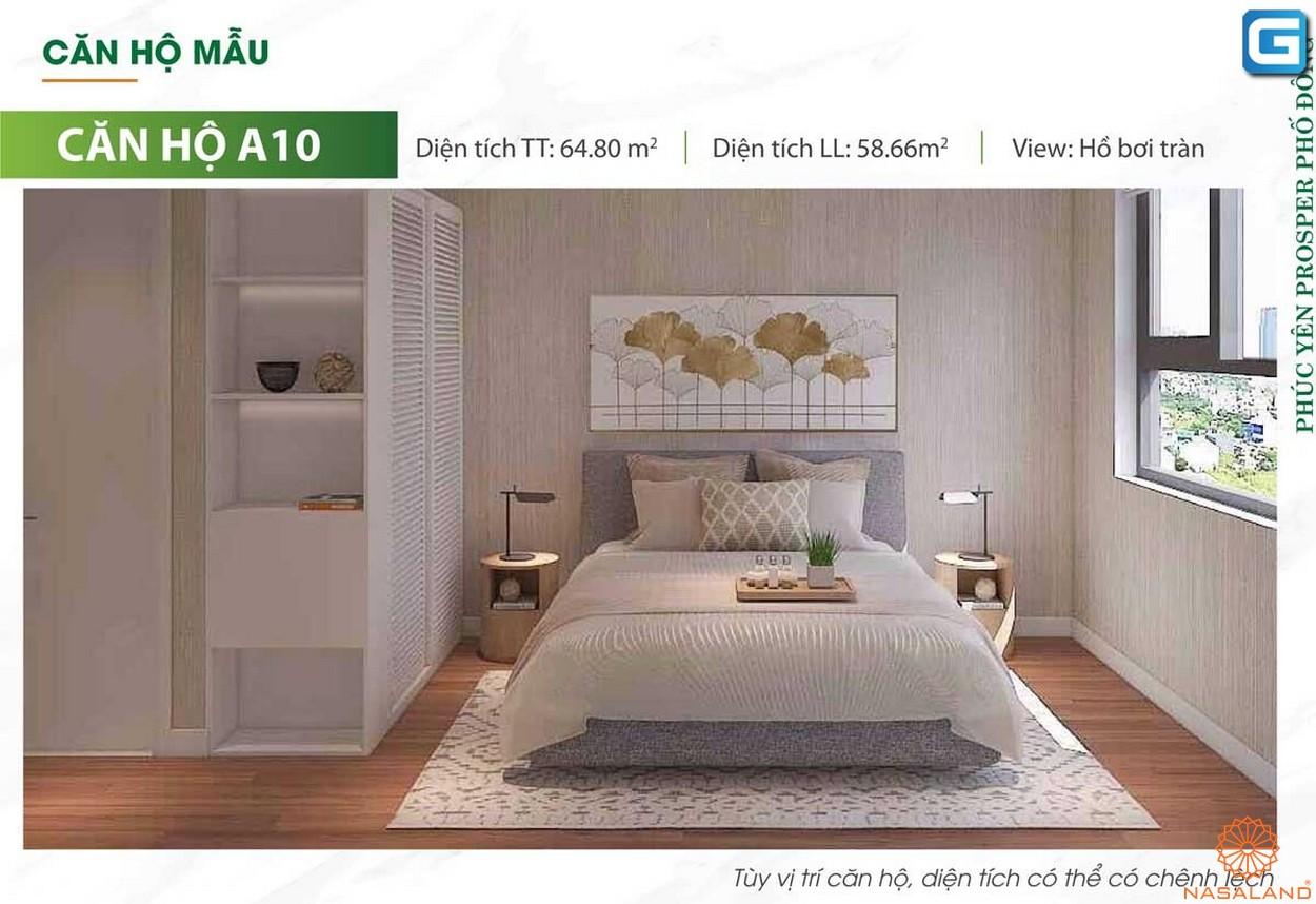 Nhà mẫu dự án căn hộ Phúc Yên Prosper Phố Đông Thủ Đức A10