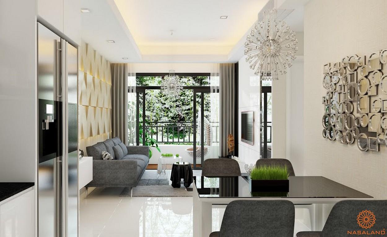 Nội thất dự án chung cư Diamond Lotus Lake View Tân Phú - Phòng khách