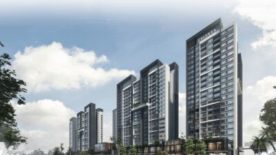Phối cảnh dự án căn hộ Celesta Rise Keppel Land Nhà Bè