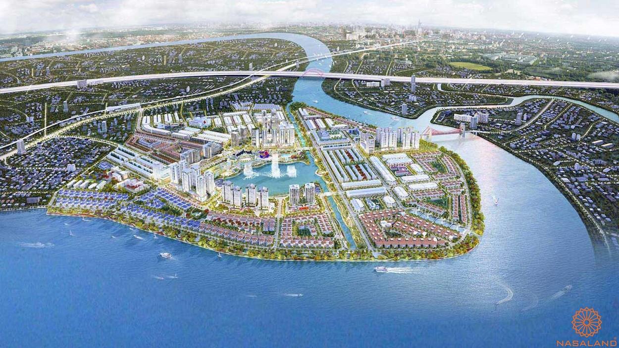 Phối cảnh dự án khu đô thị Vạn Phúc City Thủ Đức tổng thể